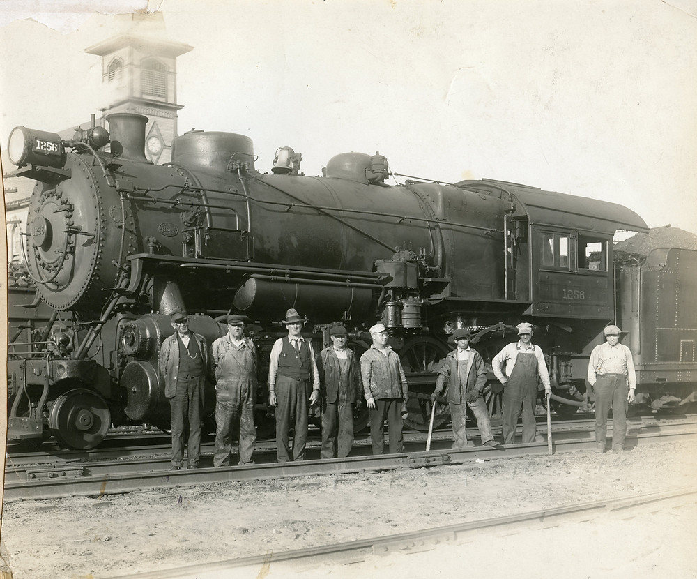 Train Crew Westmoreland Coal Co., Export, PA 1920