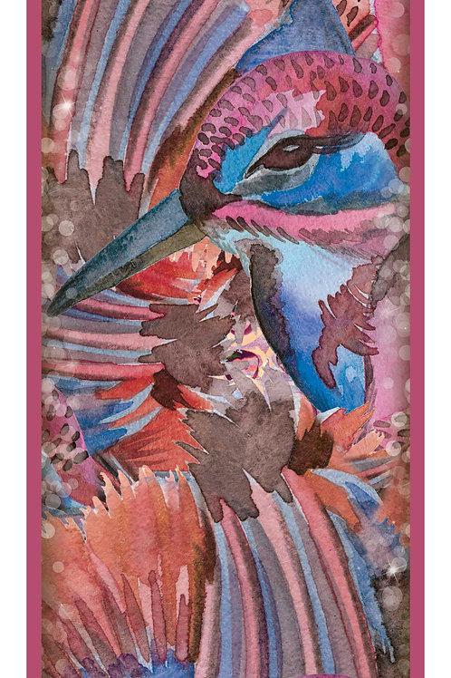 Sorrento Pink | 45x150cm , silk