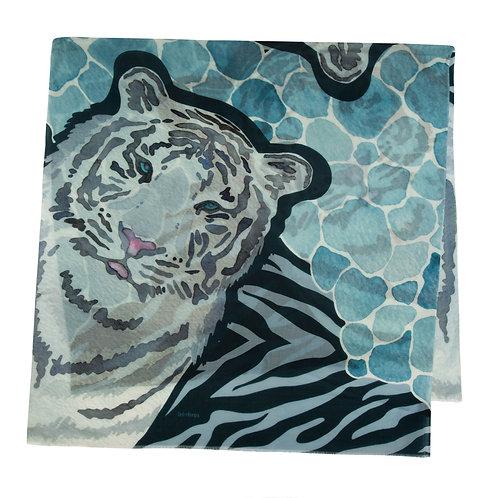 Siberian Tiger | 100x200cm , cashmere