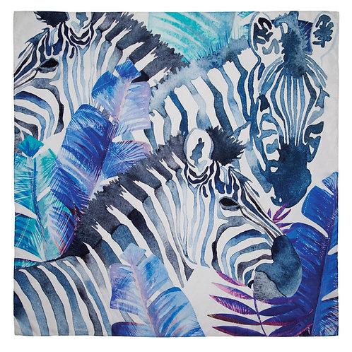 Safari | 100x100cm , silk