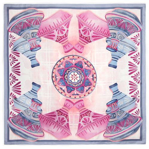 Tagines | 100x100cm , silk
