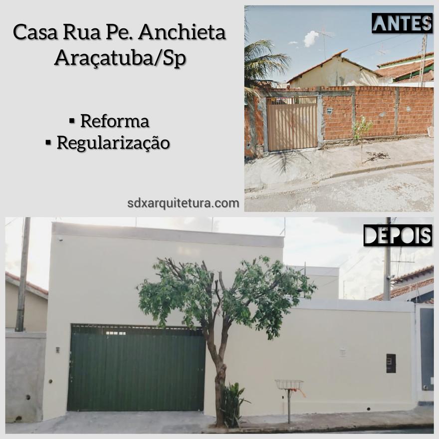 CASA RUA PE. ANCHIETA