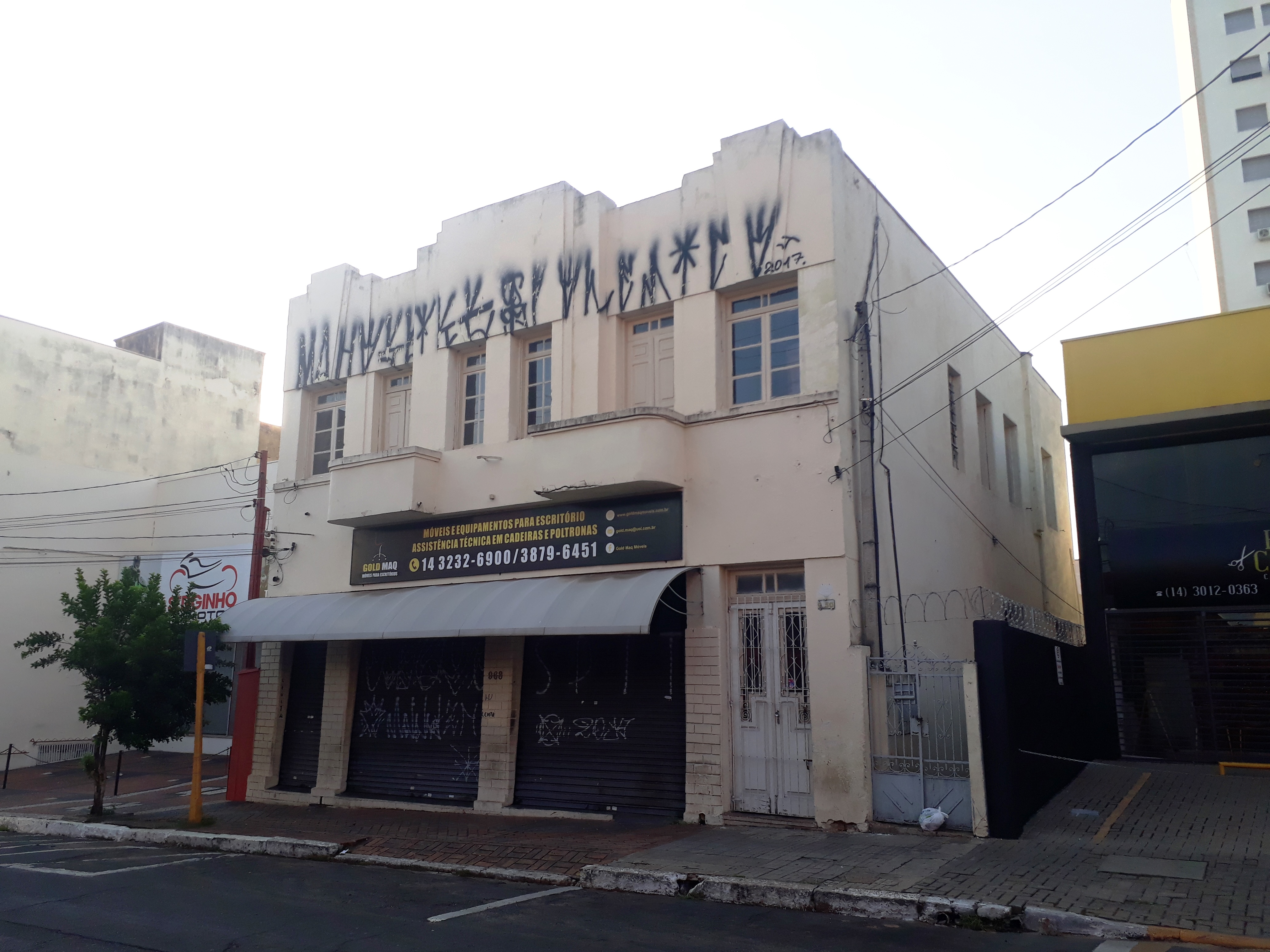 Edifício da Rua 1 de Agosto