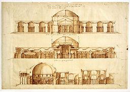 Reprodução da Termas de Agripa, por Andrea Palladio
