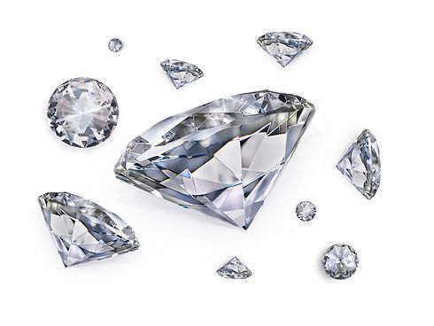 Dazzling diamond on white background.jpg