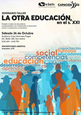 Seminatio-taller: La otra educación, en el s. XXI
