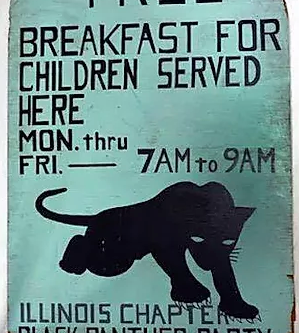 Black Panthers & Breakfast for Children Program
