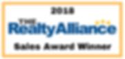 Farnan Real Estate is a 2018 Realty Alliance Sales Award Winner