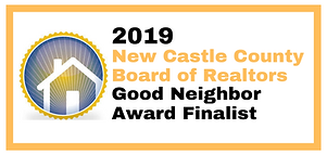 Farnan Real Estate is a 2019 New Castle County Board of Realtors Good Neighbor Award Finalist