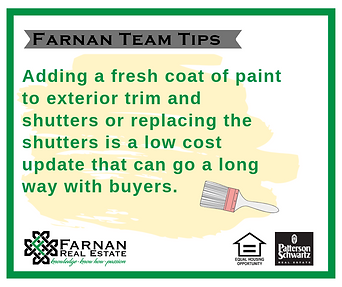 Farnan Real Estate - A Patterson-Schwartz Real Estate Agent - Home Buying and Home Selling Tips