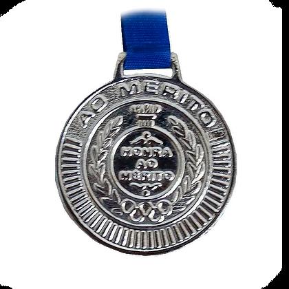 Medalha Rema - Prata Média ( pct c/ 5uni )