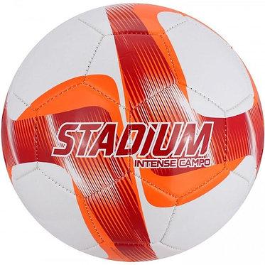 Bola Campo Stadium intense Costurada - Branco e Vermelho