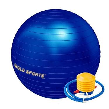 Bola de Pilates e Ginástica 65cm Com bomba