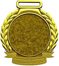 Medalha de ouro para personalizar MM60/ com 5