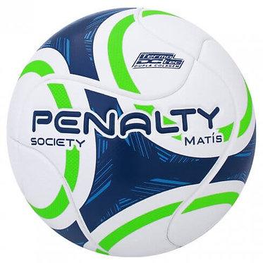 Bola Penalty Society Matis IX Branca e Azul