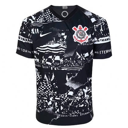 Camisa do Corinthians III Invasões 2019 Nike - Masculina