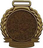 Medalha de bronze para personalizar P/ com 5