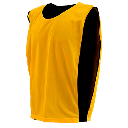 Colete Dupla Face  - Amarelo c/ Preto