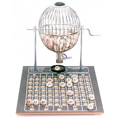 Jogo tabuleiro / bingo - vispora - N2 - 75 pedras - cromado - Três Reis