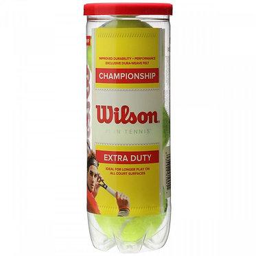 Kit Bola de Tenis Wilson com 3