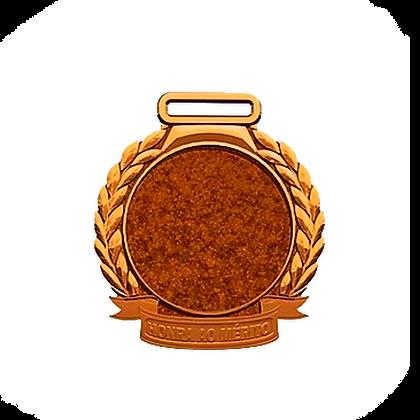 Medalha Rema - Bronze Grande ( pct c/ 5uni )