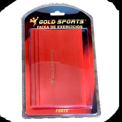 Faixa Elástica Forte - Gold Sports