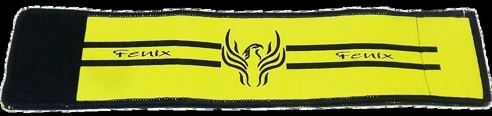 Faixa de capitão neo premium amarelo