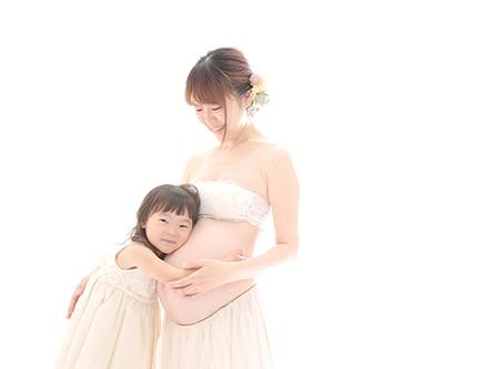 マタニティ写真 | お姉ちゃんになる成長 |大阪市心斎橋