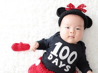 100日記念|大阪のナチュラルな写真スタジオ
