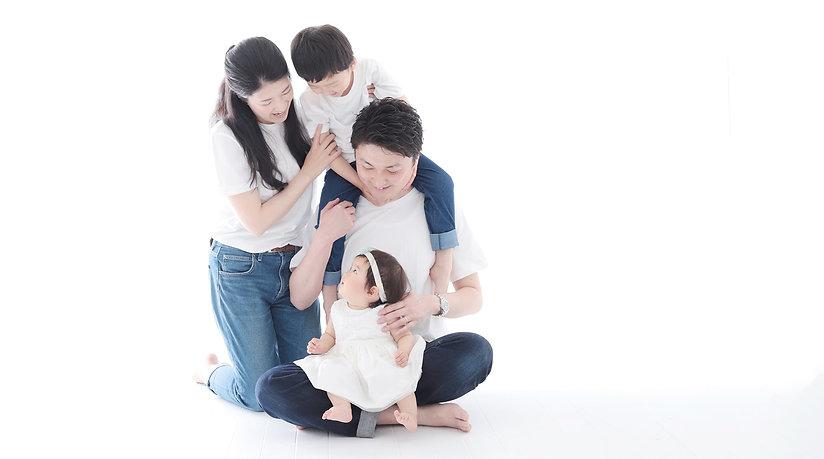 家族写真,大阪
