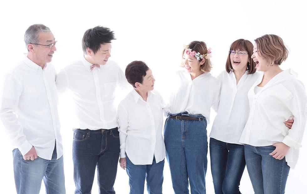 大阪市,心斎橋,家族写真