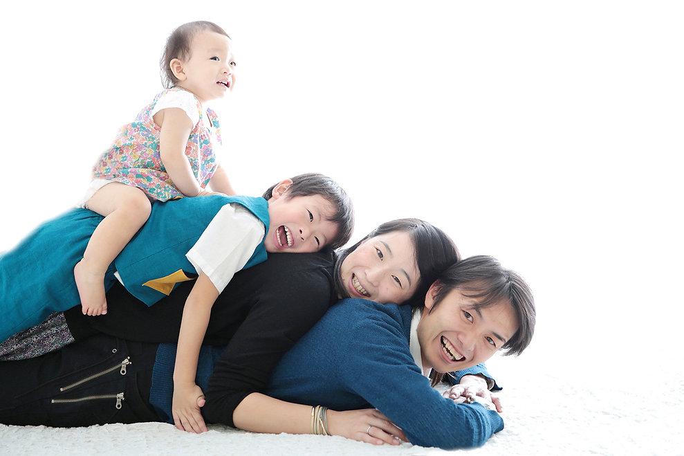 家族写真,大阪市,フォトスタジオ