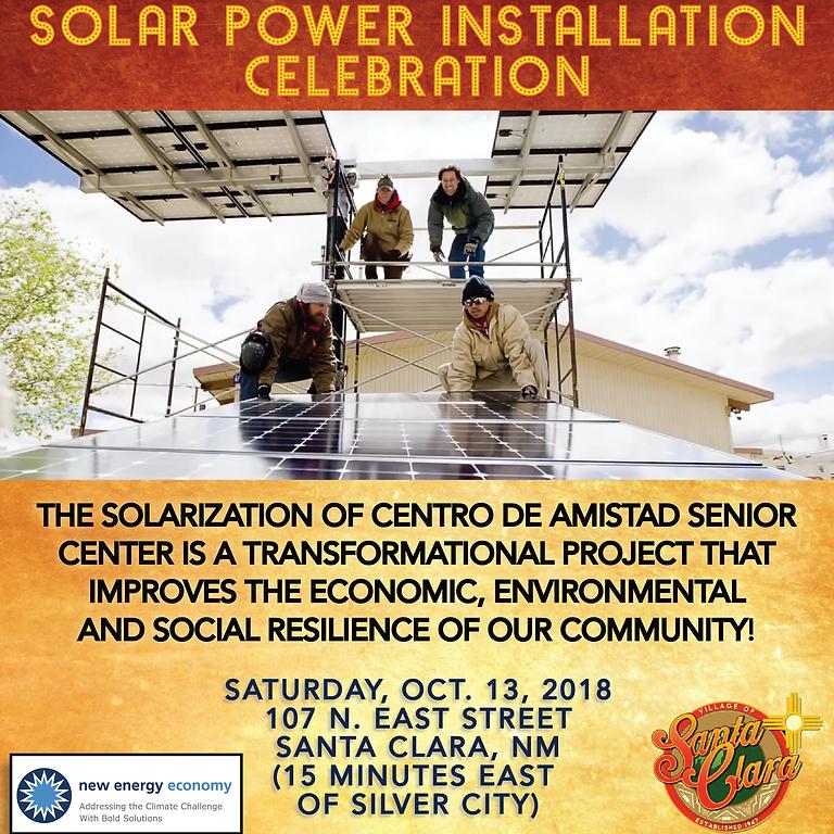 Santa Clara Solarization Celebration