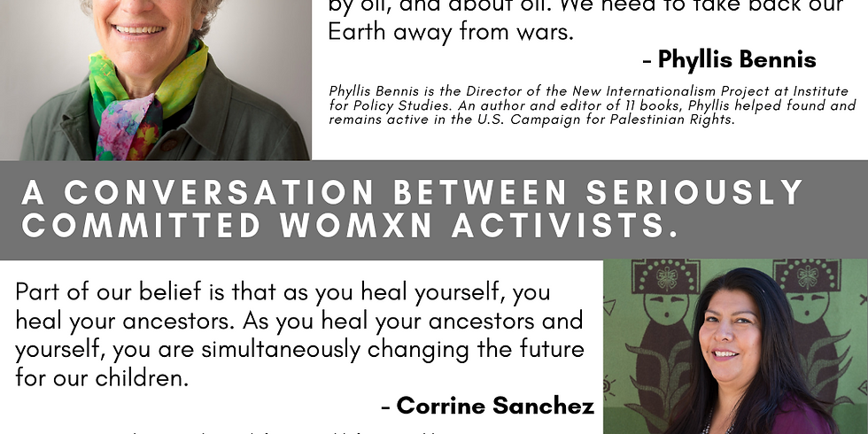 Truth Telling in the Age of Climate Disruption: A conversation of seriously committed womyn activists.