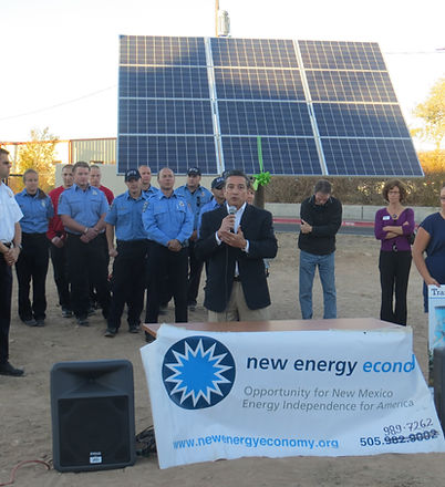 Joe Maestas at the solar celebration.jpg
