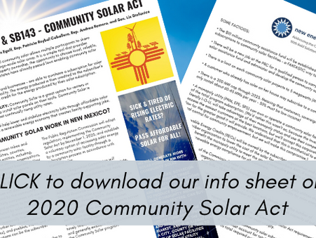 ETA question before Supreme Court, Community Solar Act Before House Energy, Dahr Jamail in Santa Fe
