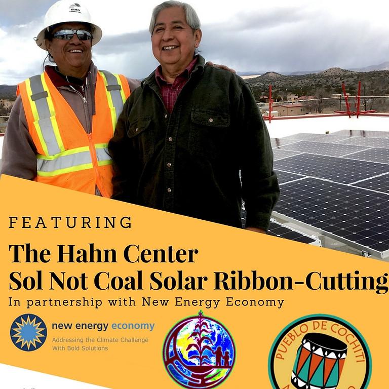 Cochiti Pueblo Solarization Ribbon-Cutting