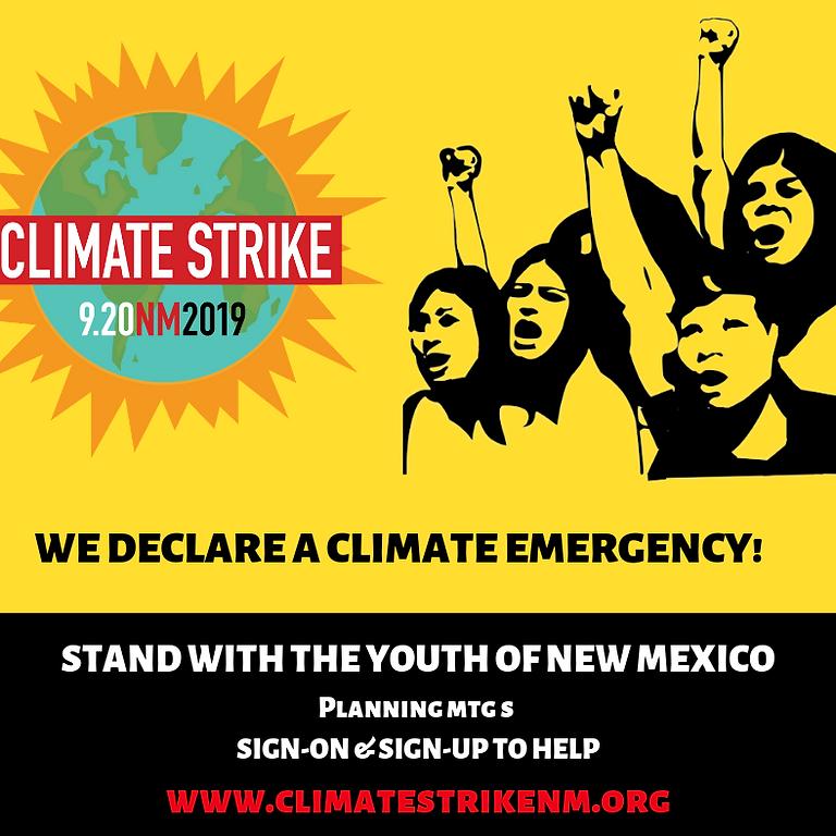 Global Climate Strike 9/20 - NM