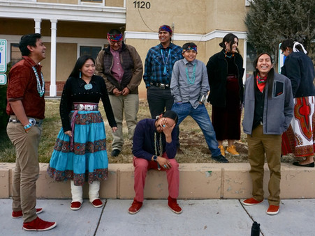 Youth Diné Voices Beautifully Carry Demands for Coal Plant Clean Up Before PRC