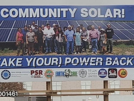 Billboard Calls on Governor and Legislature to Pass Community Solar Law in 2020!