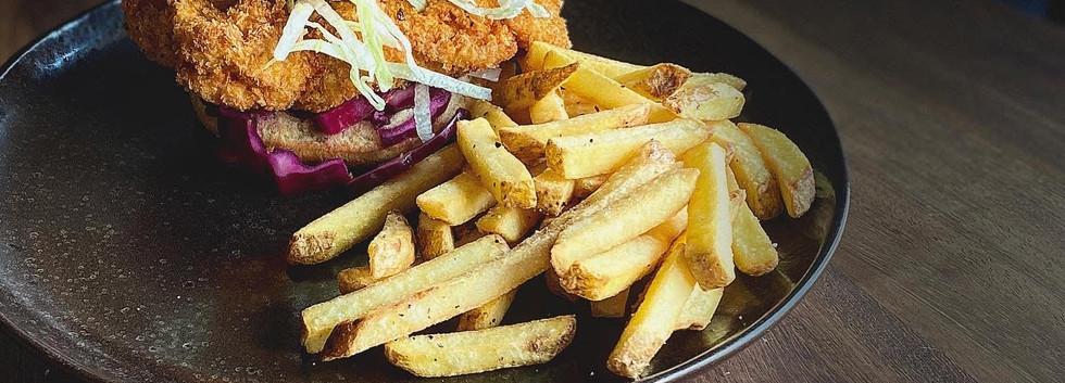 Chicken Katsu Burger £12.5