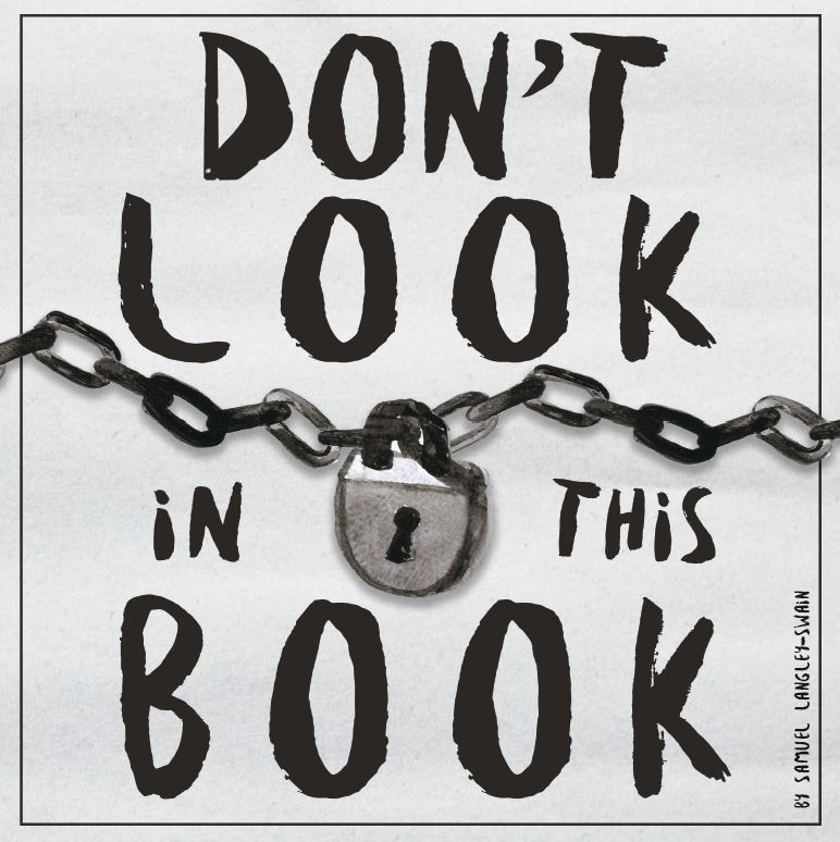 Dont Look in This Book Cover