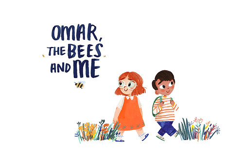 Omar The Bees and Me  - Activities