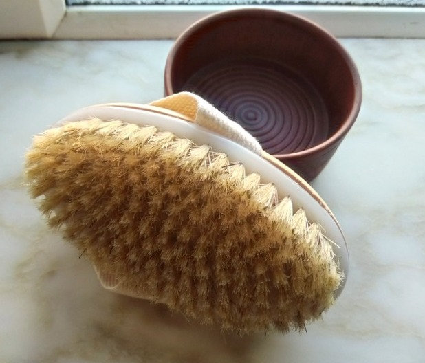 Cactus Bristles Body Brush
