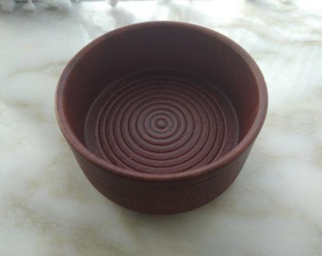 Oak Soap Bowl