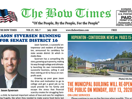 Jason Syversen Running for District 16 via The Bow Times