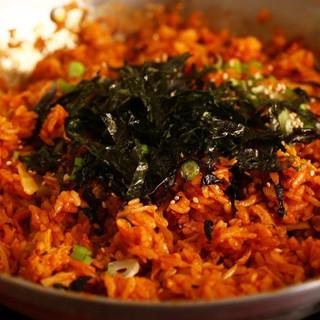 Kimchi Fried Rice 김치볶음밥