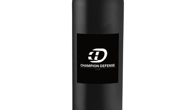 Champion Ddefense Logo Water Bottle