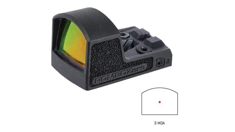 SISOR01300 ROMEO ZERO REFLEX 3MOA BLK