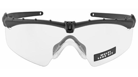 Oakley Standard Issue, Ballistic M-Frame 3.0, Glasses, Black Frame with Grey/Cle